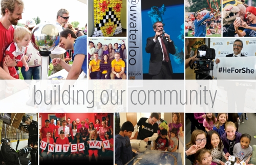 building our community collage