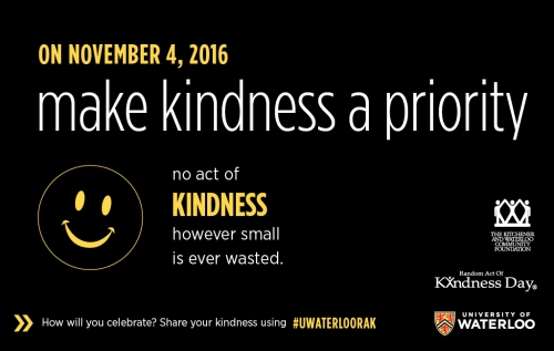 make kindness a priority