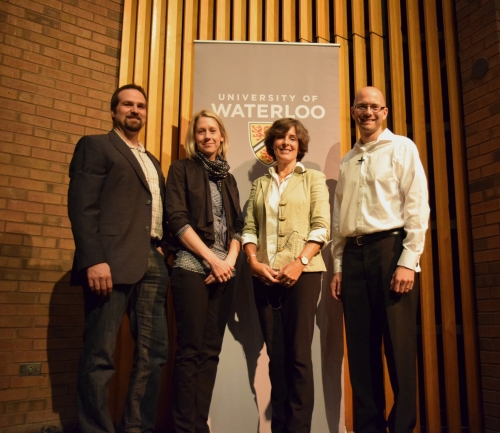 Four University of Waterloo scientists