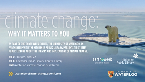 Why it Matters to You with polar bear on melting ice caps