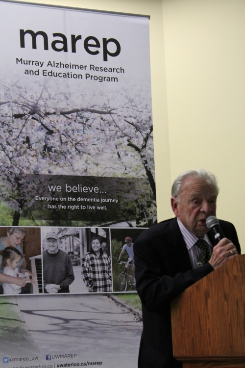 Murray Alzheimer Research and Education Program founder Ken Murray