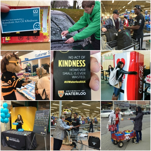 Random Act of Kindness Day collage
