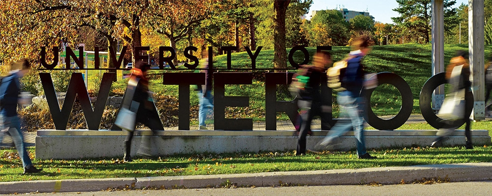 Building Our Community, University of Waterloo Community Impact Report