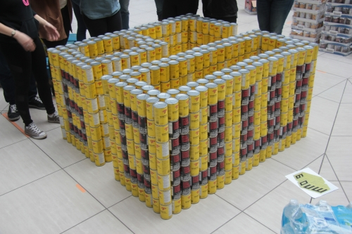 Canstruction structure