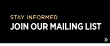 Stay informed; join our mailing list