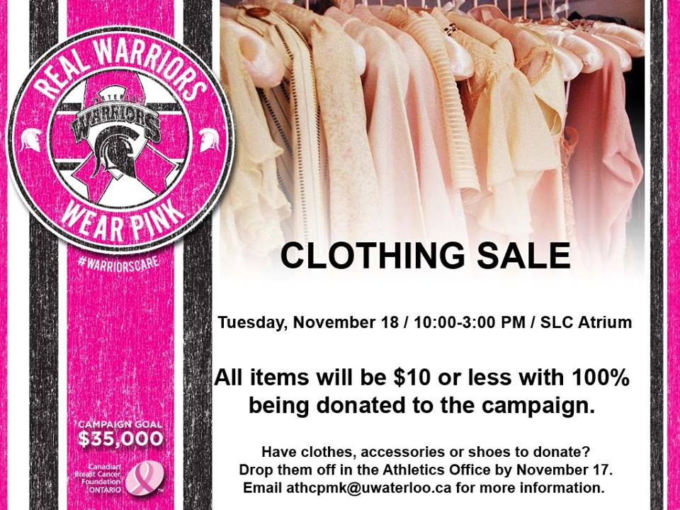 Clothing Sale poster