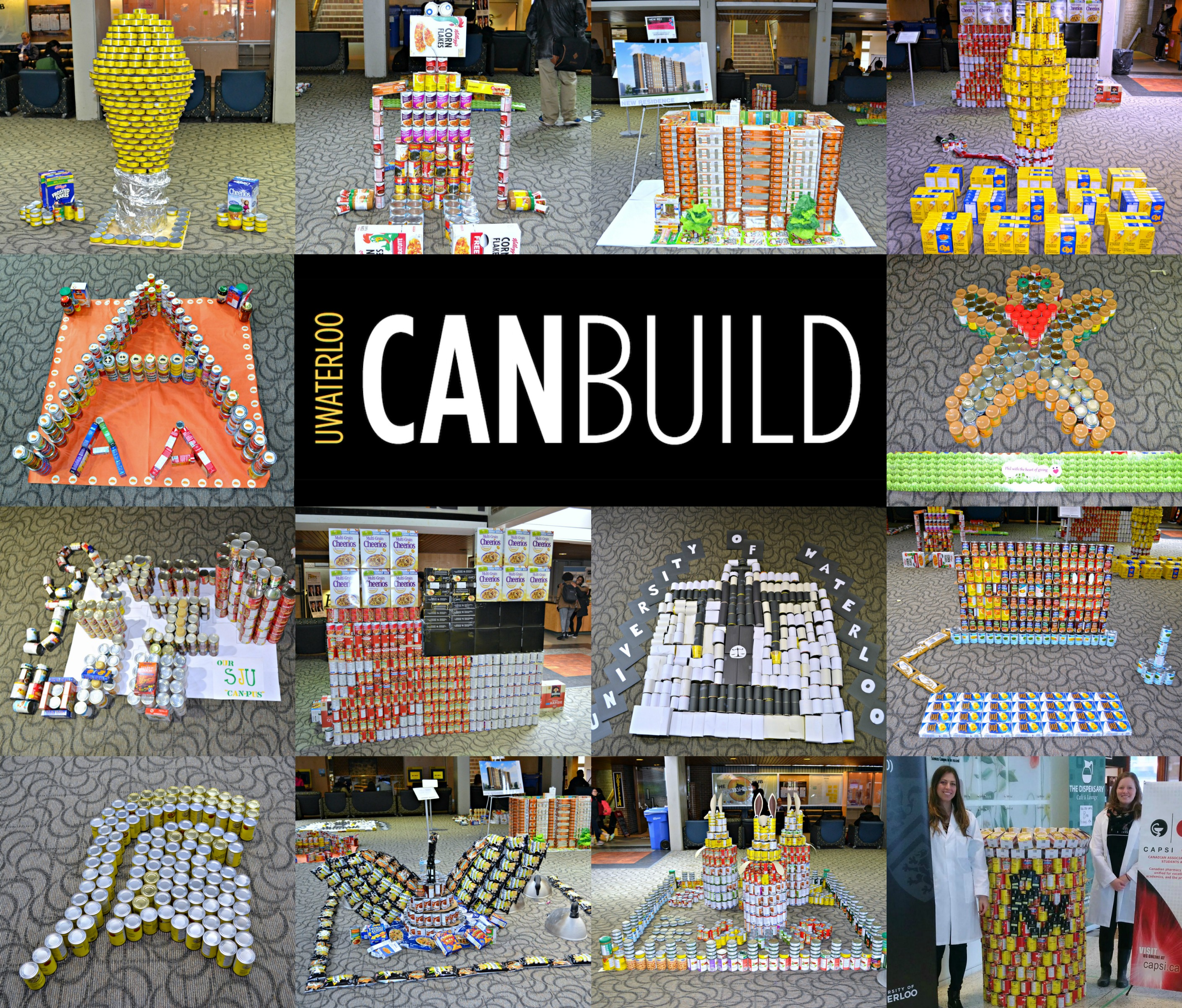 UWaterloo CanBuild, featuring a collage of different canned structures