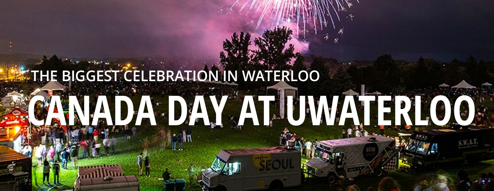 The biggest celebration in Waterloo, Canada Day at UWaterloo