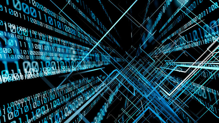 abstract image of computer science research