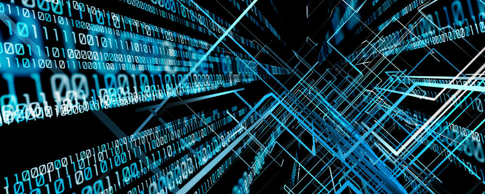 abstract image depicting computer science research