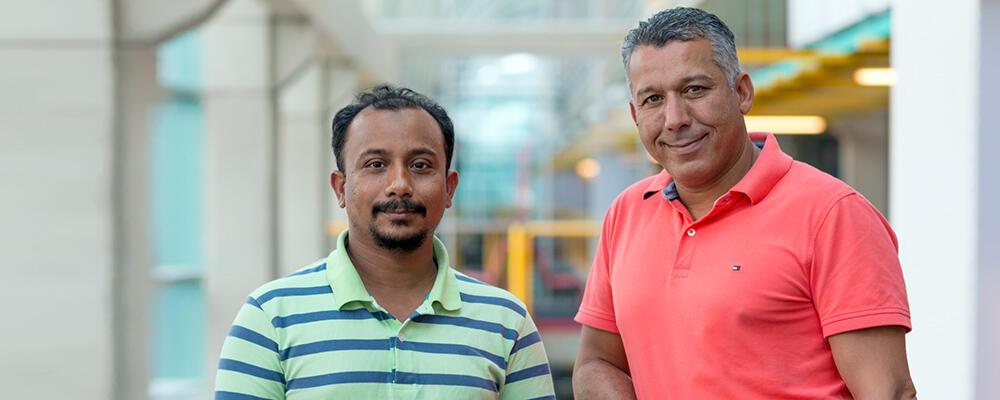 photo of Nashid Shahriar and Raouf Boutaba