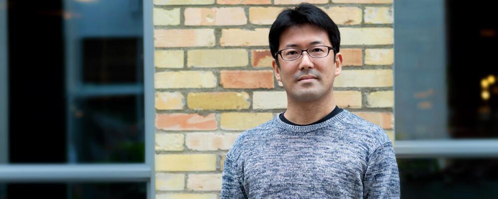 photo of Professor Toshiya Hachisuka