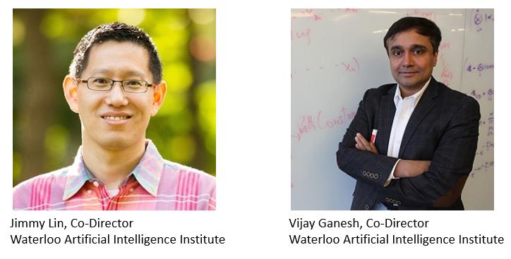 photo of Professors Jimmy Lin and Vijay Ganesh