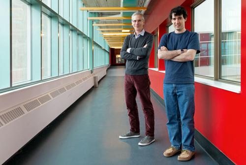 photo of Daniel Vogel and Matthew Lakier