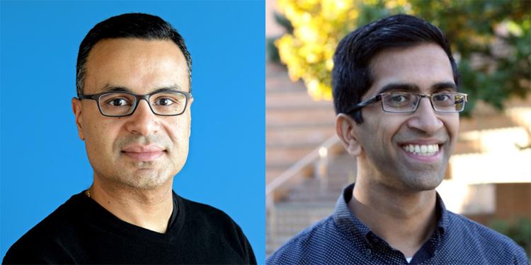 photo of Professors Ihab Ilyas and Gautam Kamath
