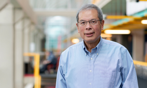 photo of Distinguished Professor Emeritus Johnny Wong