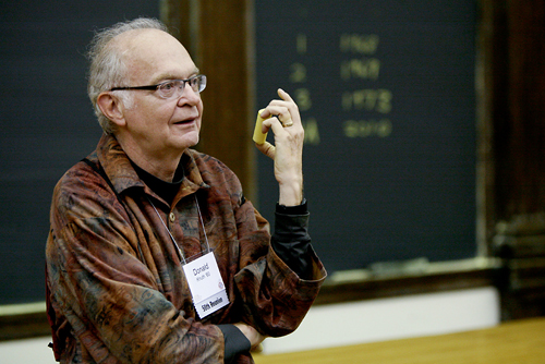 Photo of Professor Don Knuth