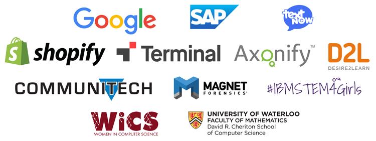 Technovation Waterloo sponsors April 22, 2019