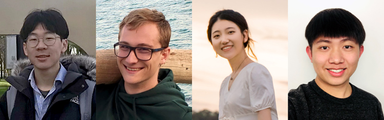 Vector Scholarships in Artificial Intelligence recipients