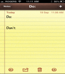 jack dorsey dos and donts list