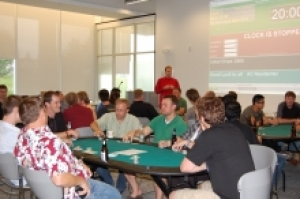 Poker Night at the Accelerator Centre
