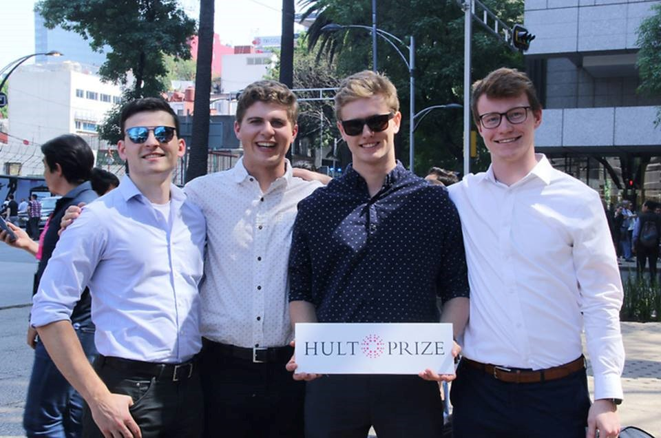 Better Bail For America team at Hult Prize in Mexico
