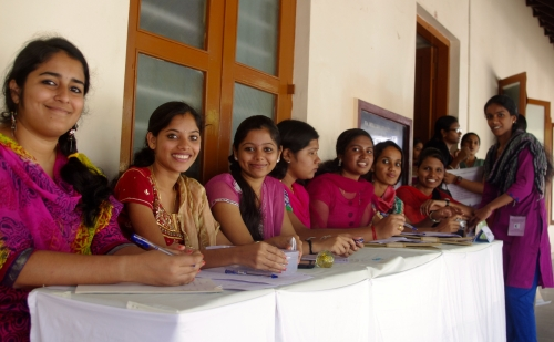 Female students of Assumption College