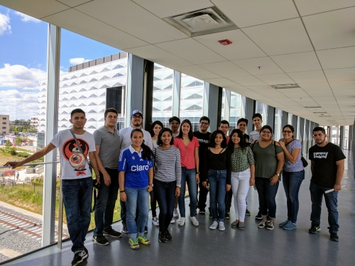 ITESM students outside Engineering 6