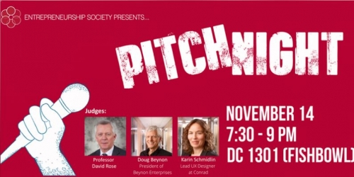 EntSoc Pitch Night
