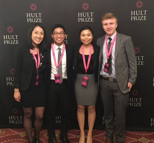 Hult Prize team at the Regional Finals