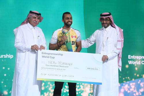 NERv Technology wins Entrepreneurship World Cup Global Finals