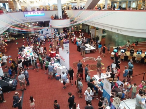 Maker fair in Hamilton