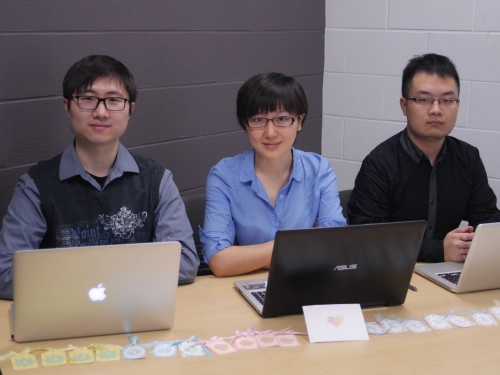 Peter Chen, Rachel Huang and Collin Zhang
