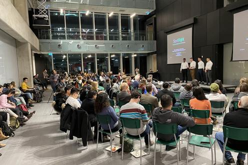 Audience at 2019 Hult Prize Finals