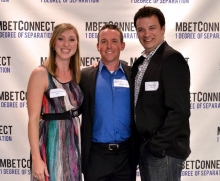 Meghan Hennessey, Blyth Gill, and Adam Gryfe - MBET grads and Clearpath Robotics employees