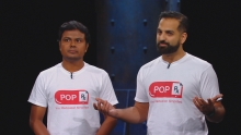Vejey and Ali on Dragon's Den