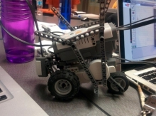 Robot from roboworx competition
