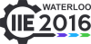 Waterloo IIE 2016 logo