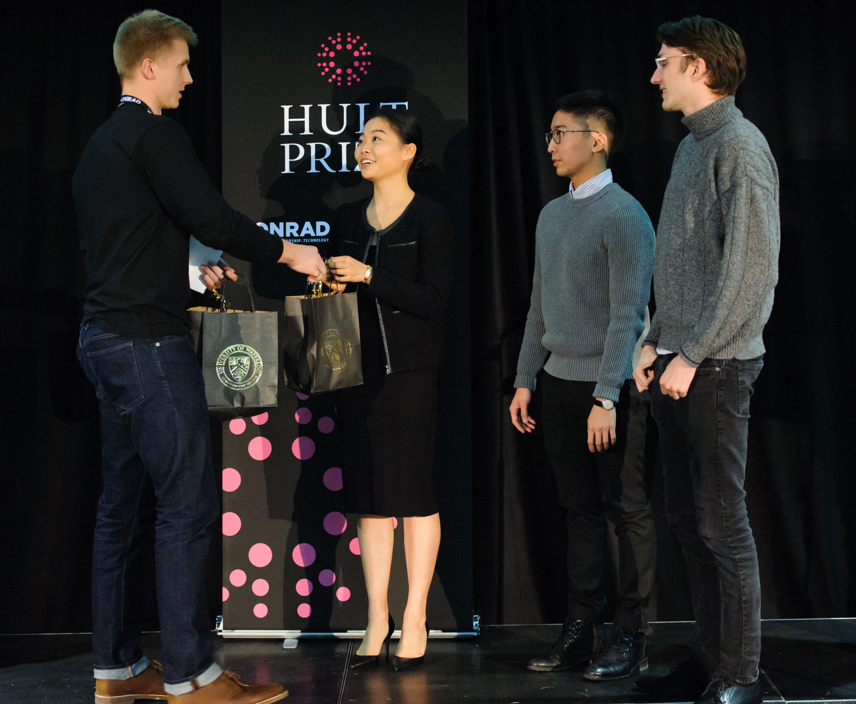 Team Epoch at the Hult Prize