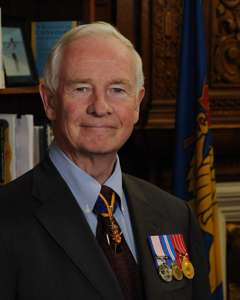 His Excellency the Right Honourable David Johnston