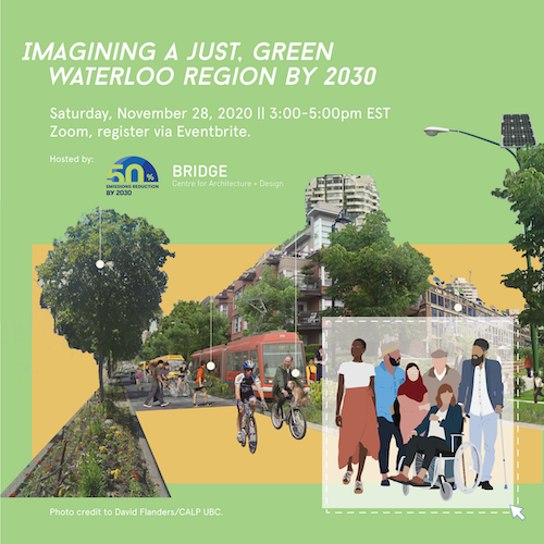 A poster for the upcomg BRIDGE climate architecture workshop.