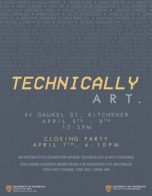 Technically Art poster.