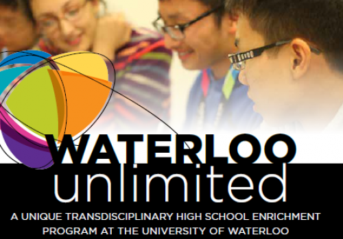 Waterloo Unlimited logo.