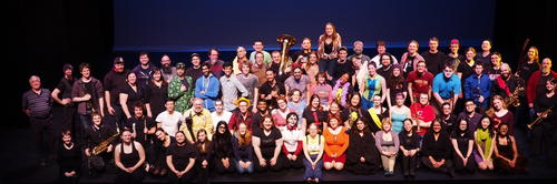 The 2016 FASS Theatre Company group photo.