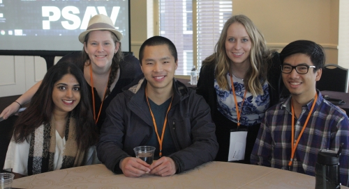 GreenHouse innovators Trishala Pillai, Elle Crevits, Benny Hua, Rachel Thompson, and Richard Yim presented at the Ashoka U Exchange, a global social entrepreneurship conference.