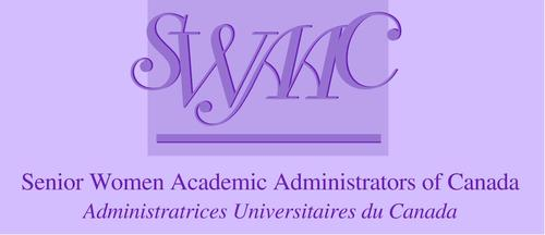 The Senior Women Academic Administrators of Canada logo.
