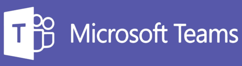 Microsoft Teams logo.