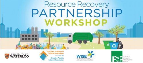 Resource Recovery Partnership Project banner showing a street with a garbage truck.