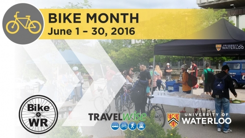 Bike Month poster.
