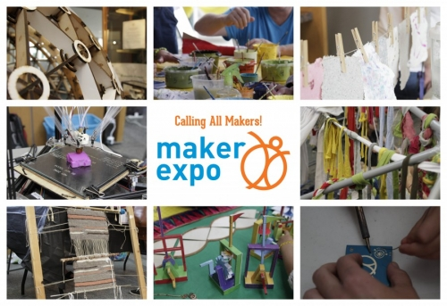 Maker Expo infographic.